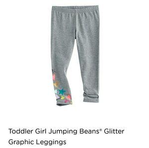 jumping beans Bottoms - Glitter graphic leggings Any 4 for $22